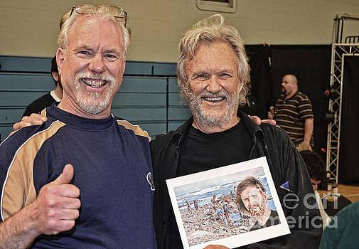 Kris Kristofferson and Me  by Jim Fitzpatrick