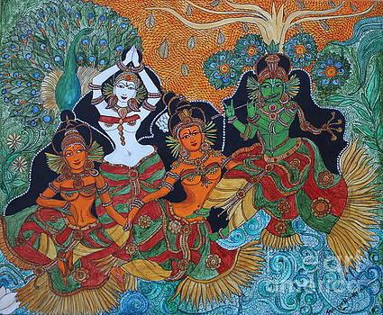 Krishna And Gopika by Saranya Haridasan