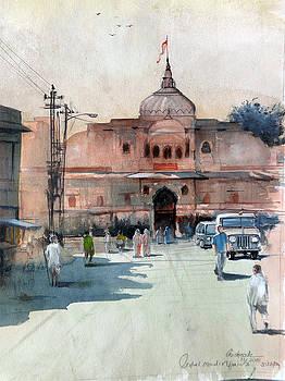 Krishna temple by Gourav Sheode