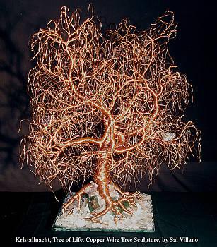 Kristallnacht, Tree of Life by Sal Villano