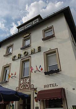 Krone Hotel Rudesheim by Teresa Mucha