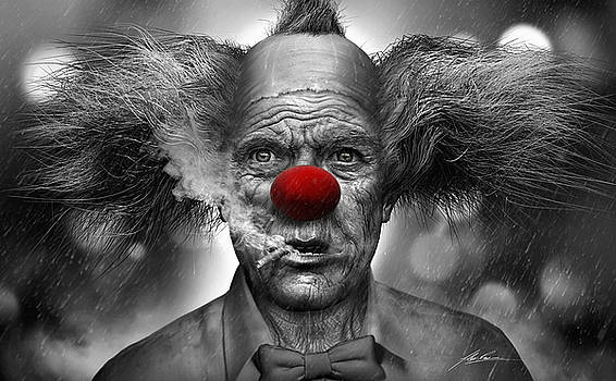 Krusty the Clown by Alex Ruiz