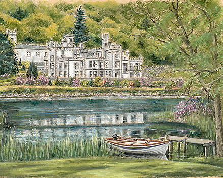 Kylemore Abbey Connemara Galway by Vanda Luddy