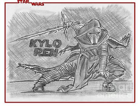 Kylo Ren The Force Awakens by Chris DelVecchio