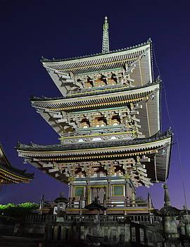 Corinne Rhode - Kyoto Shrine at Night