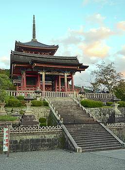 Corinne Rhode - Kyoto Temple