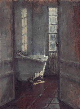 La baignoire sur pieds by Nicolas Martin