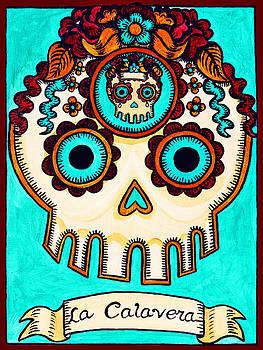 La Calavera - The Skull by Mix Luera