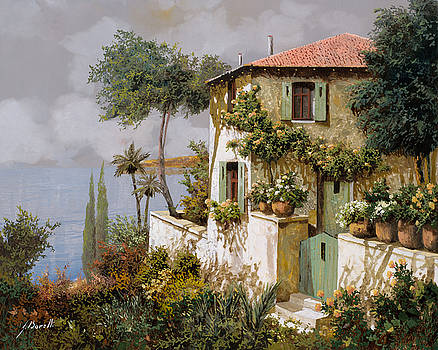 La Casa Giallo-verde by Guido Borelli