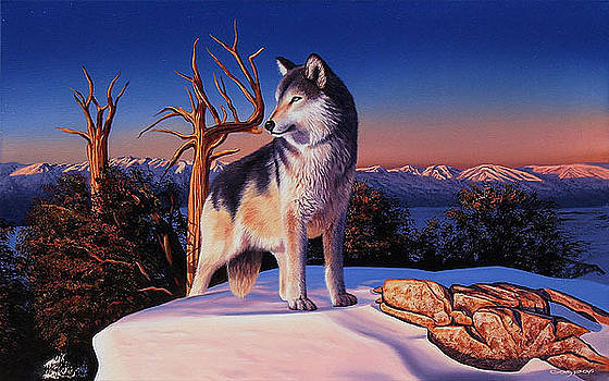 La cima del lobo by Sergio Gaspar