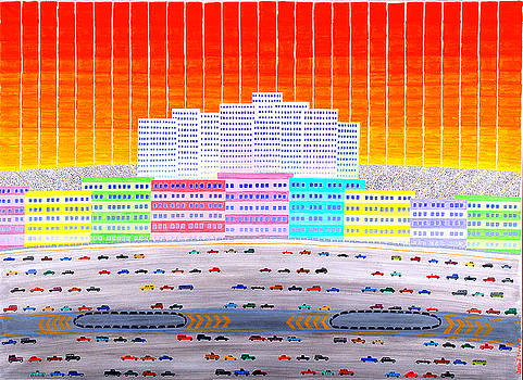 L.A. Cityscape by Jesse Jackson Brown