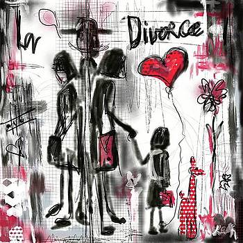 La divorce  by Sladjana Lazarevic
