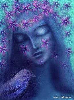 La Femme en Bleu by Alice Mason