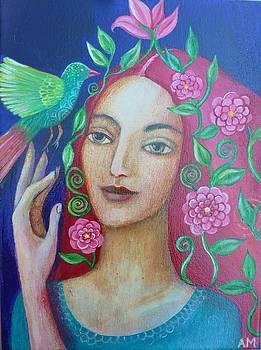 La Femme et l'Oiseau by Alice Mason