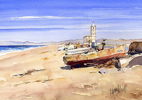 La Iglesia de Las Salinas by Margaret Merry