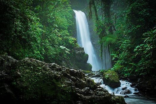 La Paz waterfall Costa Rica by Riddhish Chakraborty