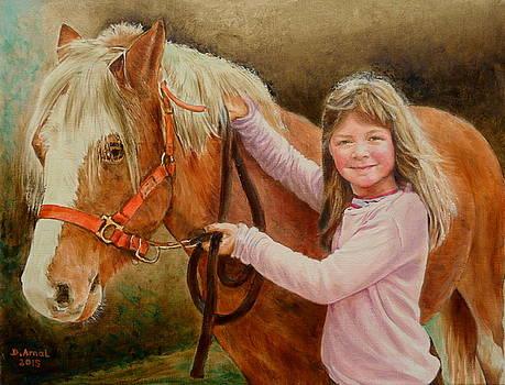 La Petite Cavaliere by Danielle Arnal