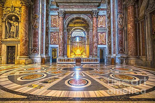 La Pieta di Michelangelo - Rome - Italy by Luciano Mortula