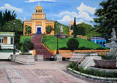 La Plaza De Moca by Luis F Rodriguez