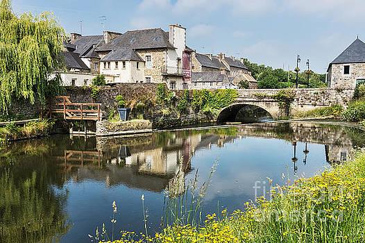 La Roche-Derrien France by Ann Garrett