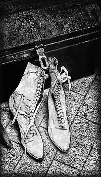 Joan  Minchak - Lace Boots