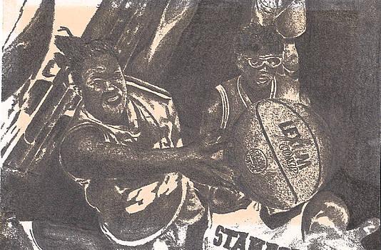 Ladies Basketball by Albert Hunter