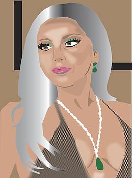 Lady Gaga 2016 by Michael Chatman
