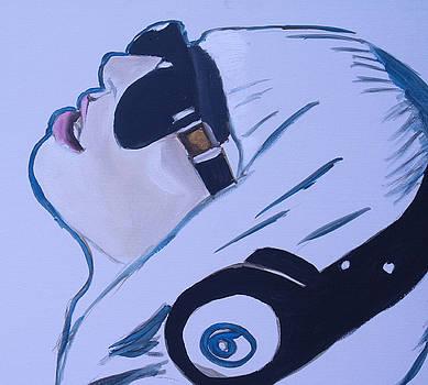 Lady Gaga speed painting by Mikayla Ziegler