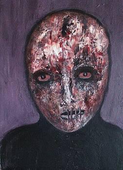 Lady in black by Katerina Apostolakou
