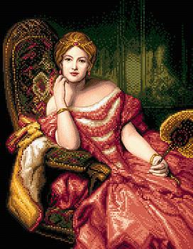 Lady in red by Stoyanka Ivanova