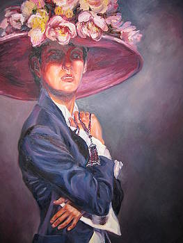 Lady in the hat by Ekaterina Pozdniakova