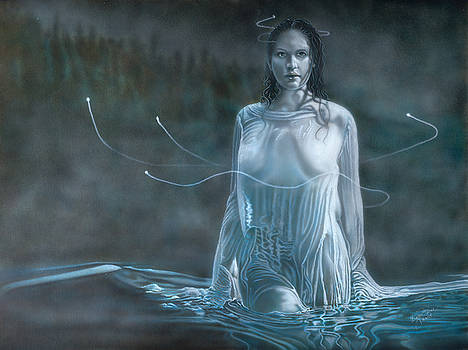 Lady In The Lake by Wayne Pruse