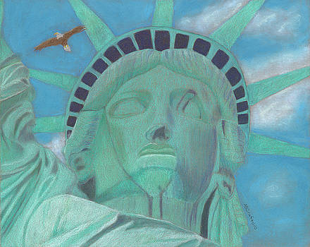 Lady Liberty by Arlene Crafton