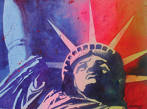 Lady Liberty by Chuck Creasy