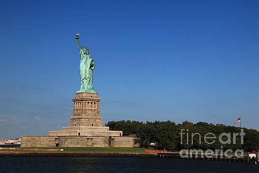Lady Liberty Ellis Island NYC II by Wayne Moran