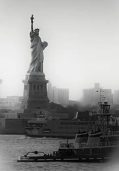 Lady Liberty In Time by Alyse Liebowitz