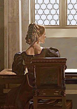 Dominique Amendola - Lady near the window