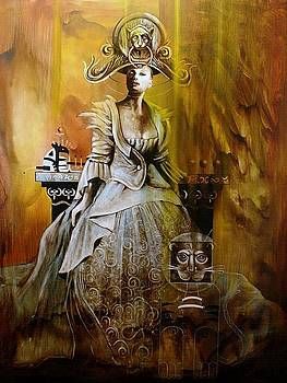 Lady of Chesire by Jorge Porras