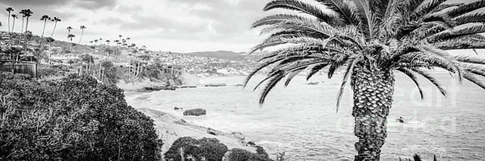 Paul Velgos - Laguna Beach Black and White Panorama Photo
