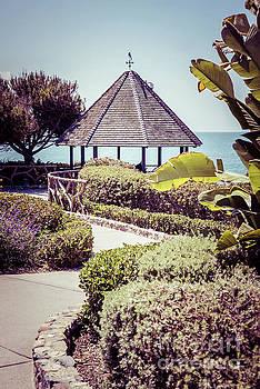 Paul Velgos - Laguna Beach California Gazebo Retro Photo