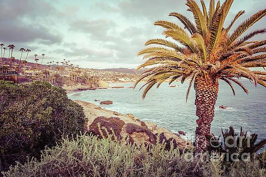 Paul Velgos - Laguna Beach California Retro Photo