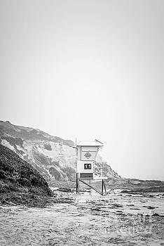 Paul Velgos - Laguna Beach Crystal Cove Lifeguard Tower #11