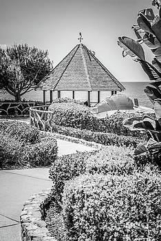 Paul Velgos - Laguna Beach Gazebo Black and White Photo