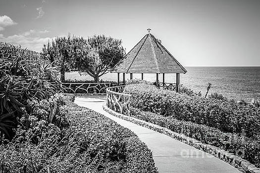 Paul Velgos - Laguna Beach Gazebo Black and White Picture