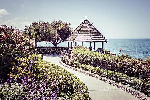 Paul Velgos - Laguna Beach Gazebo Retro Picture