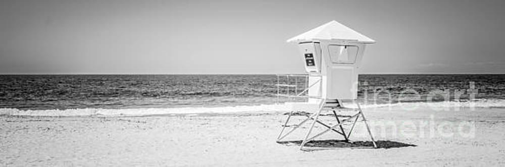 Paul Velgos - Laguna Beach Lifeguard Tower Panoramic Photo