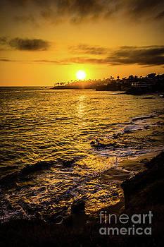 Paul Velgos - Laguna Beach Sunset Picture at Shaw