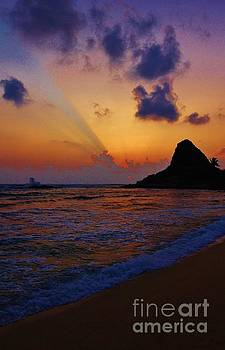 Lahilahi Beach Sunset  by Craig Wood