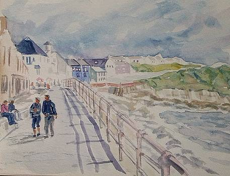 Lahinch Seaport Town by Ruth Mabee