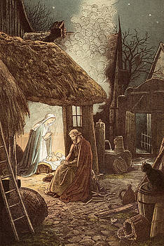 Victor Paul Mohn - Laid in a Manger